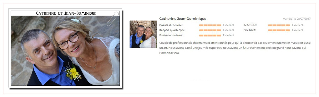 catherine et jean dominique